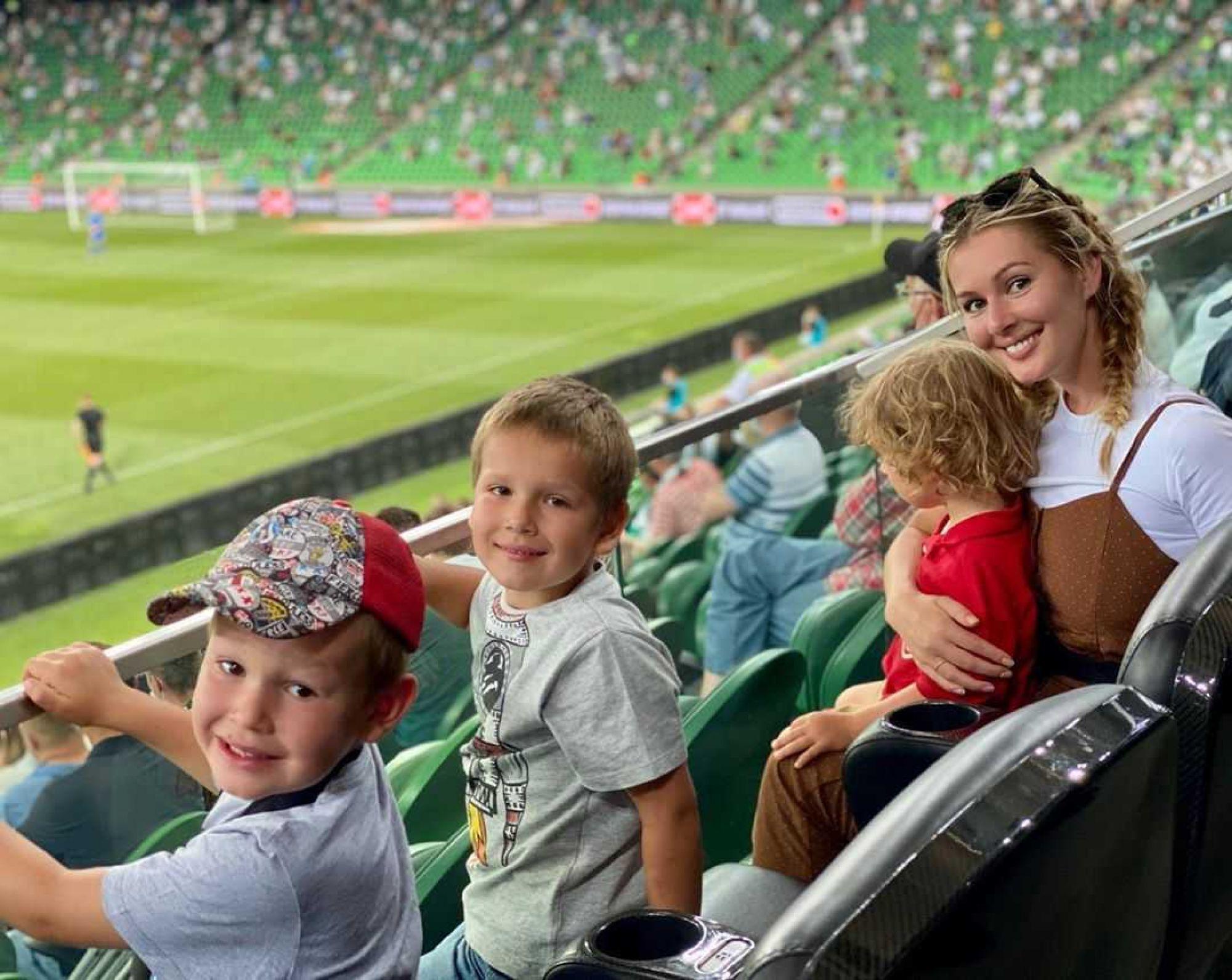 «Я такого в России не видела!»: Мария Кожевникова побывала на стадионе в Краснодаре