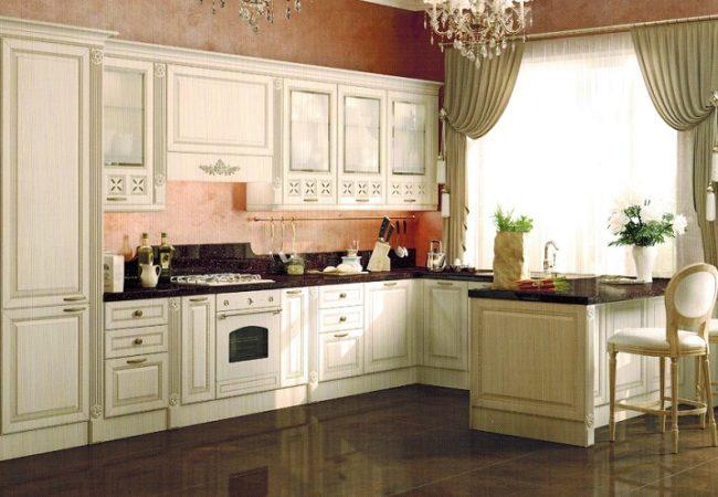 Характерные особенности мебели для кухонь
