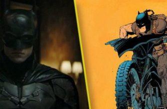 Новые кадры фильма «Бэтмен» показали Бэтцикл