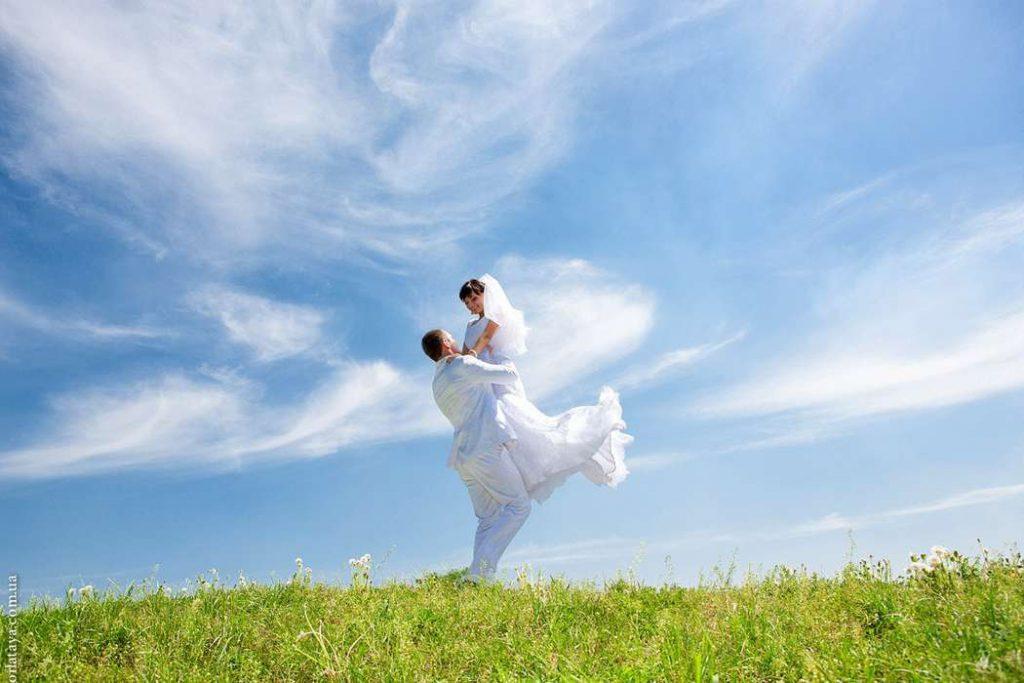 Свадьба в небесных просторах