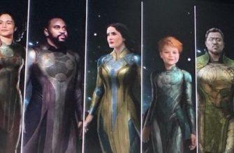 Новая утечка показала костюмы героев фильма «Вечные»