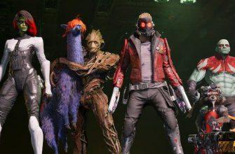 Показаны умения членов команды в игре «Стражи галактики Marvel»