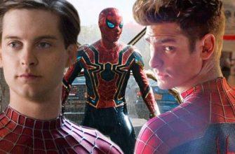 Sony тизерят Тоби Магуайра и Эндрю Гарфилда в «Человеке-пауке: Нет пути домой»