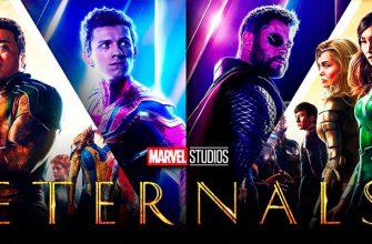 Человек-паук и Тор появились в новом трейлере фильма «Вечные»
