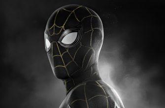 Новое изображение черного костюма Человека-паука из «Нет пути домой»